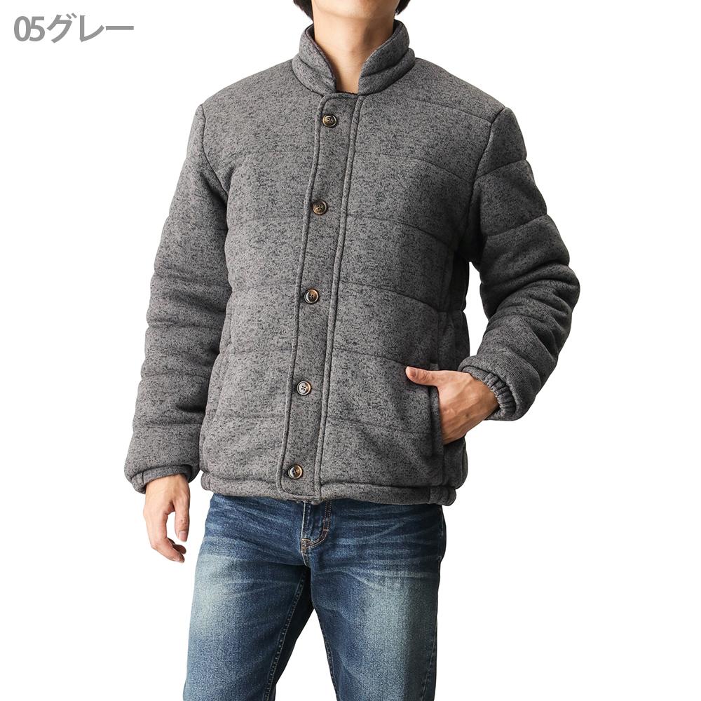 [Real Standard(リアルスタンダード)] ニットフリース中綿ジャケット 17880-629 メンズ