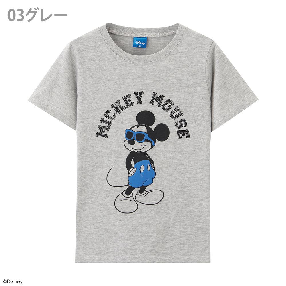 ディズニー ミッキー プリントTシャツ 326107006
